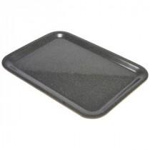 Genware Laminated Wood Veneer Tray Dark Granite 460x340mm
