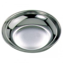 Genware Stainless Steel Round Dish 110mm