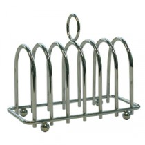 Genware Chrome Horseshoe Toast Rack 140x120mm