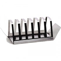 Genware Stainless Steel Economy Toast Rack 200x70mm