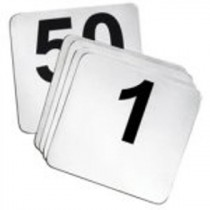 Genware Banquet Table Number Set 1 to 50