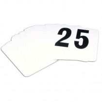 Genware Banquet Table Number Set 1 to 25
