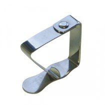Genware Stainless Steel Table Cloth Clip 50x50mm