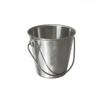 Genware Stainless Steel Serving Bucket 9cm 37cl