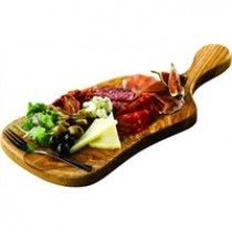 Genware Olive Wood Paddle Board 44x20x2cm
