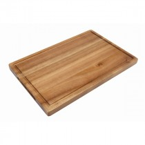 Genware Acacia Wood Serving Board 34x22x2cm