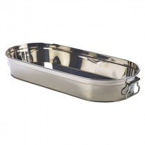 Genware Stainless Steel Sharing Bucket 46x20x7cm