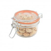 Genware Glass Terrine Jar 170ml 8.1x6.5cm