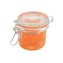 Genware Glass Terrine Jar 230ml 8.2x8.1cm