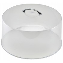 Genware Polystyrene Cake Cover Metal Handle 30.5x16.5cm