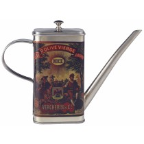 {Genware Stainless Steel Oil Can 50cl/17.5oz}
