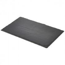 Genware Natural Edge Slate Platter 26.5x16cm