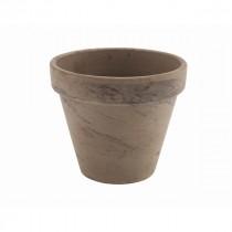 Genware Terracotta Pot Basalt 11.2x9.7cm