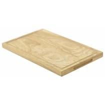Genware Oak Wood Serving Board 34x22x2cm
