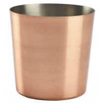 Genware Copper Serving Cup 8.5x8.5cm