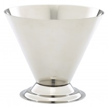 Genware Stainless Steel Conical Sundae Cup 8.5x10cm