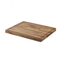 Genware Acacia Wood Serving Board GN 1/2