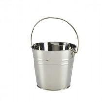 Genware Stainless Steel Serving Bucket 16cm Diameter