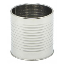 Genware Stainless Steel Can 8x8cm
