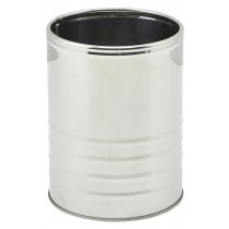 Genware Stainless Steel Can 11x14.5cm