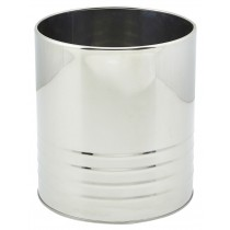 Genware Stainless Steel Can 15.7x17.8cm