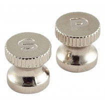 Genware Engraved Salt/Pepper Knobs 6pcs