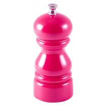 Genware Acrylic Salt or Pepper Grinder Pink 12.7cm-5""