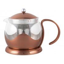 {La Cafetiere Copper Teapot 1200ml}