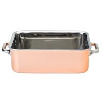 "Utopia Copper Mini Roasting Dish 15x11..5cm/6x4.5"""
