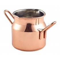 Genware Copper Mini Milk Churn 7cl-2.25oz