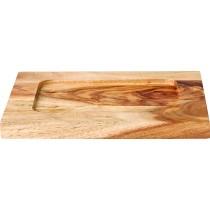 Utopia Wooden Base For Cast Iron Rectangular Dish RDTS623