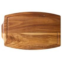 "Utopia Acacia Wood Steak Platter with Juice Groove 34x22cm/13.5x8.5"""