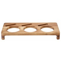 "Utopia Acacia Wood Presentation Stand for 10cm/4"" Casseroles"
