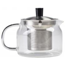 {Genware Glass Teapot 47cl/16.5oz}