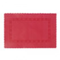 Swantex Paper Placemat Red 36.5x25cm/14.3x9.8""