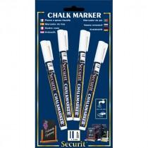 Berties Chalk Pens 2mm Round Tip White