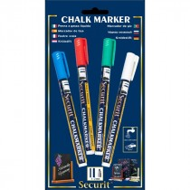 Berties Chalk Pens 2mm Round Tip Assorted Colours