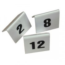 Berties Perspex Table Number Set 1 to 10