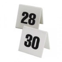 Berties Perspex Table Number Set 11 to 20