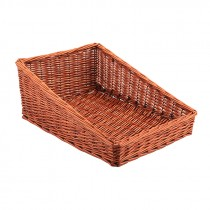 Genware Wicker Display Basket 46x36x20cm