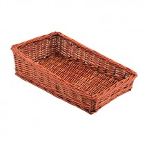 Genware Wicker Display Basket 40x25x12cm
