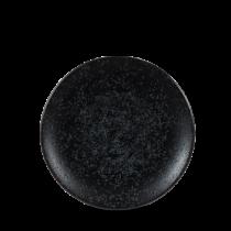 "Churchill Art De Cuisine Menu Shades Coupe Plate Caldera Ash 15.5cm-6"""