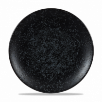 "Churchill Art De Cuisine Menu Shades Coupe Plate Caldera Ash 27cm-10.5"""