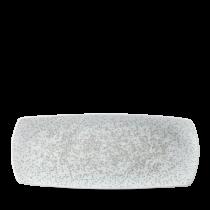 Churchill Art De Cuisine Menu Shades Medium Rectangular Plate Caldera Chalk White 35.5x20cm