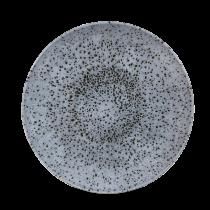 "Churchill Studio Prints Mineral Coupe Plate Mineral Blue 26cm-10.25"""