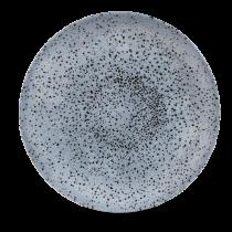 "Churchill Studio Prints Mineral Coupe Plate Mineral Blue 28.8cm-11.25"""