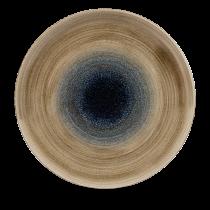 "Churchill Stonecast Aqueous Coupe Plate Bayou 28.8cm-11.25"""