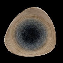 "Churchill Stonecast Aqueous Trianlge Plate Bayou 22.9cm-9"""