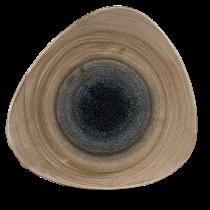 "Churchill Stonecast Aqueous Trianlge Plate Bayou 31.1cm-12.25"""