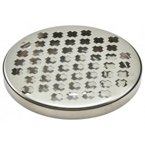 Berties Stainless Steel Round Drip Tray 14cm Diameter